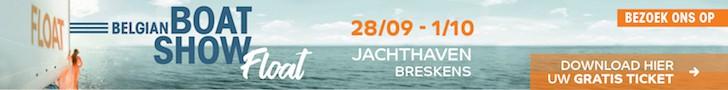 Gratis naar Belgian Boat Show Float