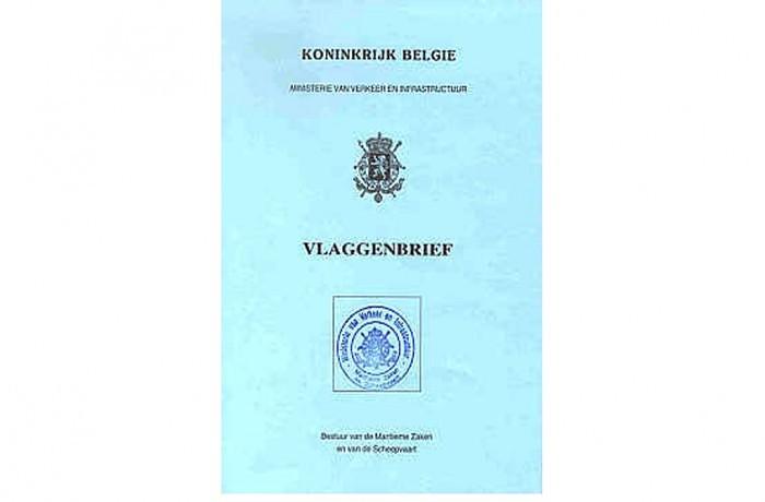 De vlaggenbrief: het paspoort van uw boot
