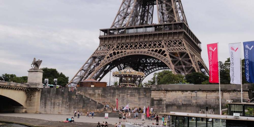 fietsen door parijs