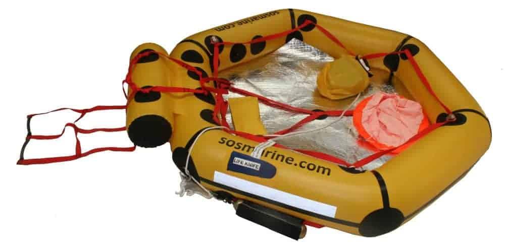 SOS Marine liferaft