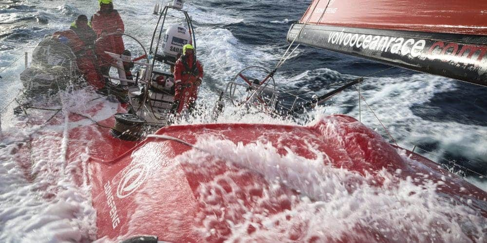March 23,2015. Leg 5 to Itajai onboard Dongfeng Race Team. Day 5. Good progression toward the east today
