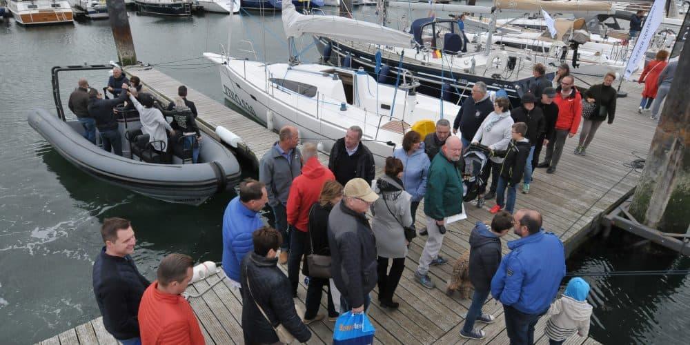 Geslaagde 1ste editie van Belgian Boat Show Float